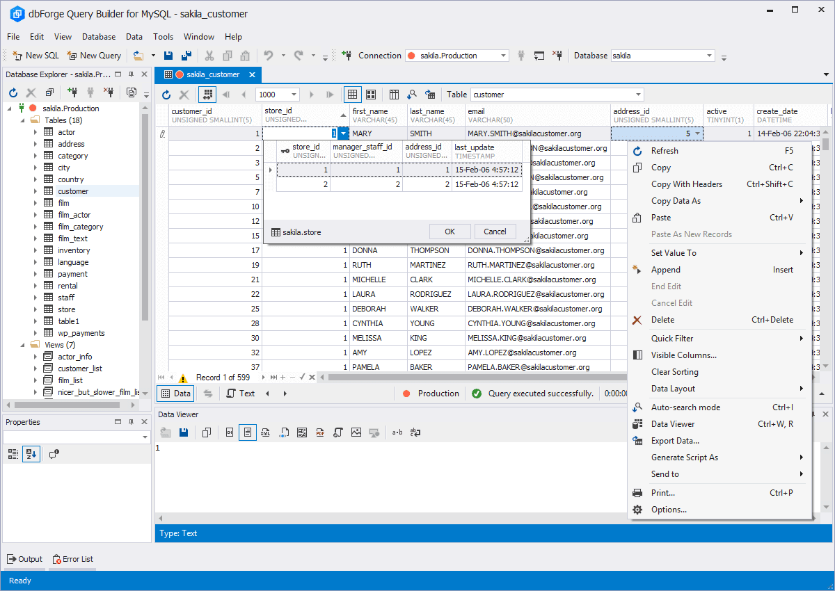DbForge Query Builder for MySQL - Download
